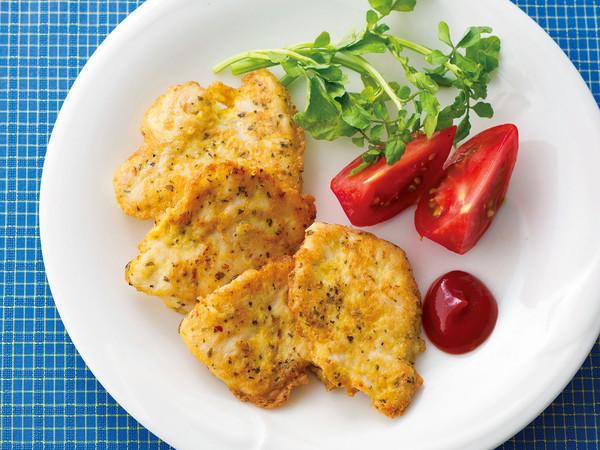 鶏胸肉のオレガノピカタ