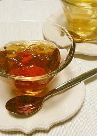 さっぱりウーロン茶&ジャスミン茶ゼリー