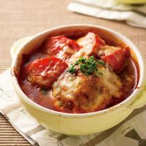 トマトハンバーググラタン