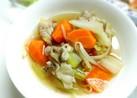 豚肉と野菜のガッツリ中華スープ
