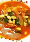 楽チン!むね肉と水煮大豆のトマト煮
