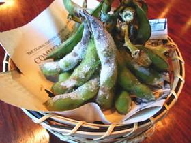焼き枝豆!料理屋で出す夏のおつまみ