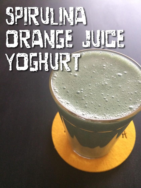 暑い日に♪スーパーフードグリーンジュース