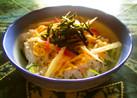 おひとりさまの胡瓜の酢の物でリメイク寿司