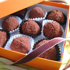 市販品活用!オレンジトリュフチョコレート