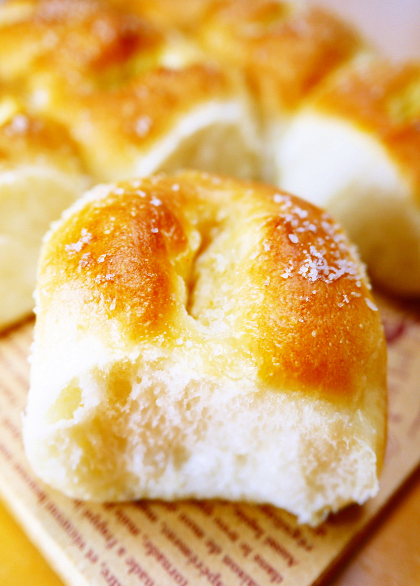 バターを包まない塩パン!HB塩ちぎりパン