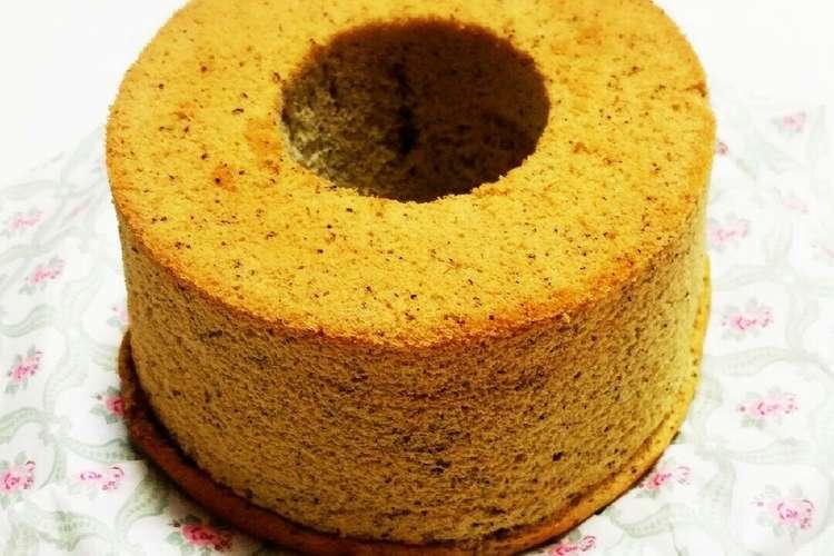 シフォン ケーキ レシピ 紅茶