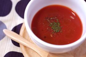 簡単!トマトの冷製スープ