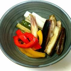 漬けるだけ簡単❗夏野菜のピクルス