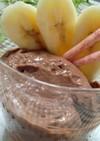 豆腐とバナナでヘルシーチョコアイス