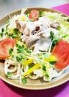 ☆簡単☆野菜たっぷりサラダうどん♪