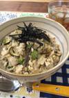 カルシウム☆高野豆腐と夏野菜小エビ餡かけ