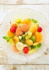 ビタミンカラー♪白玉フルーツポンチ