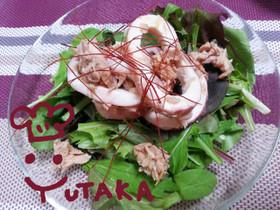 簡単☆ささっと☆イカとツナのサラダ