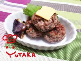 簡単☆パセリたっぷりん☆豆腐ハンバーグ