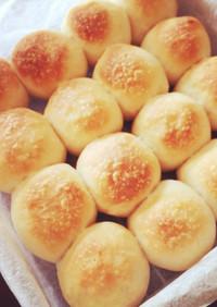 簡単手捏ね*湯種でもっちりちぎりパン*