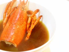 オマール海老の味噌汁