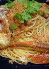 渡り蟹のパスタ♪お店の味