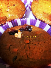 長野県上田市の赤すももジャム入りケーキの写真