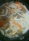 角煮炊き込みご飯