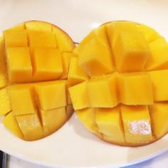 簡単☆マンゴーの切り方☆