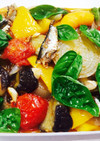 簡単夏野菜のマリネ フライパン一つでOK