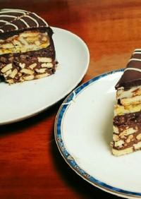 焼かない チョコレートケーキ