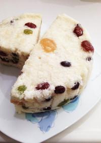 ☆韓国家庭料理☆甘納豆の韓国餅:シリット