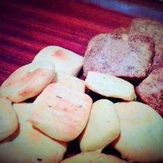 簡単♪2種類の豆乳クッキー