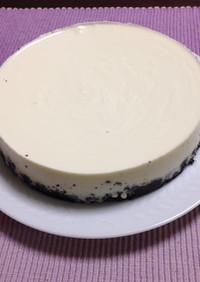なめらか食感☆ レアチーズケーキ
