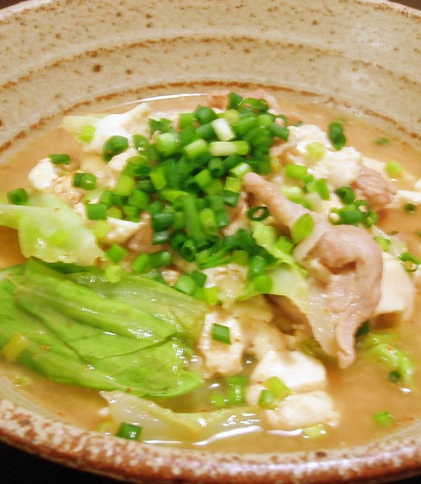 味噌味がおいしい!うちの肉豆腐