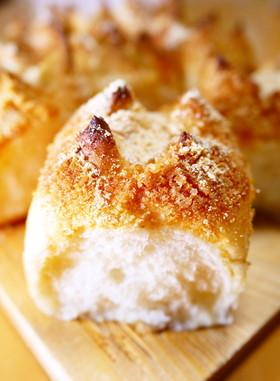 揚げパン風きな粉シュガーバターちぎりパン