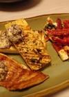 鮭と豆腐のグリル 新にんにくゆかりバター