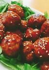 肉団子の甘酢あん♪ふわふわ&王道の味☆