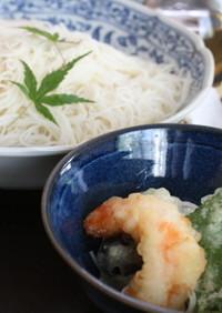 オリーブオイル素麺