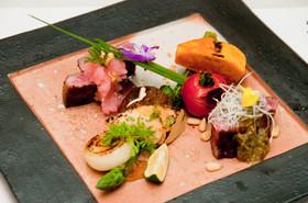 鳥取和牛オレイン55のステーキ