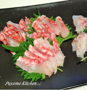 【釣食】オジサンの湯霜作り