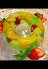 フルーツゼリー 夏休みひんやりデザート