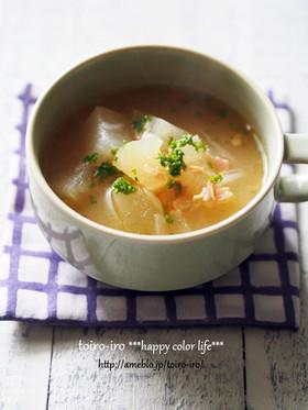 夏の定番★とろっとろ!冬瓜のスープ