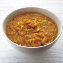 キャベツの豆カレー