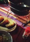 キャンプdeダッチオーブンdeほうとう鍋
