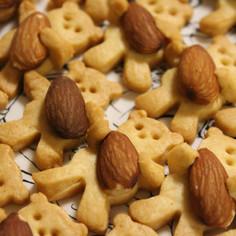 きび砂糖で流行りの抱っこクマクッキー!