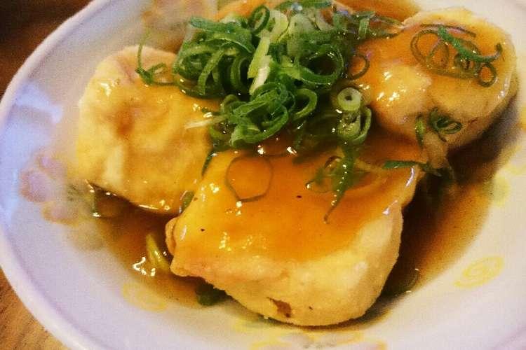 揚げ 出し 豆腐 あんかけ 揚げ豆腐の野菜あんかけ|キユーピー3分クッキング|日本テレビ
