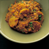 里いもの豆カレー