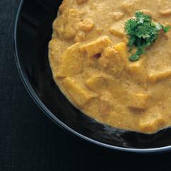 大福豆のヨーグルトカレー