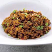 レンズ豆のパンジャビカレー