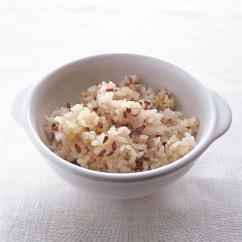 赤米のスパイス炊き