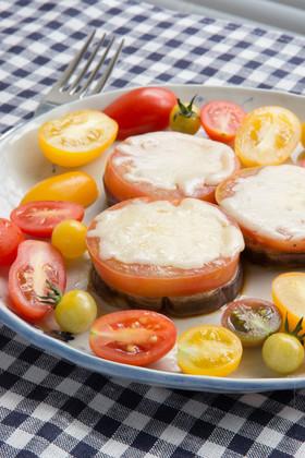 ローザビアンカとトマトのステーキ