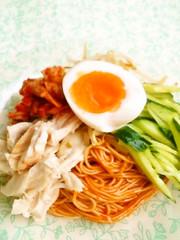 ☺アレンジそうめん☆ビビン麺風そうめん☺の写真