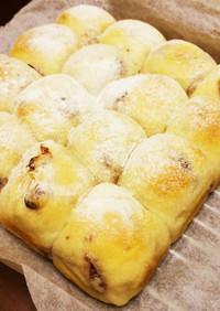 手捏ねで*クランベリーチーズちぎりパン*
